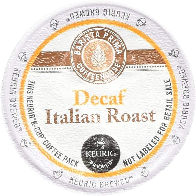 Keurig Barista Prima Coffeehouse Decaf Italian Roast Coffee K Cups 48 Count
