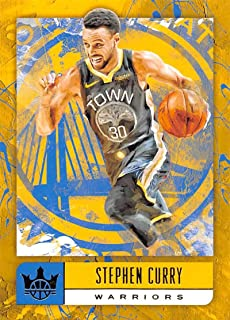 2018-19 Court Kings International Basketball #37 Stephen Curry Golden State Warriors Official Blaster Exclusive NBA Trading Card By Panini America