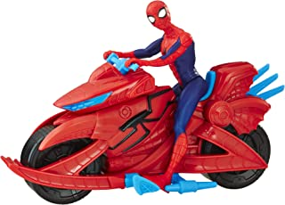Spider-Man Marvel Figure with Cycle