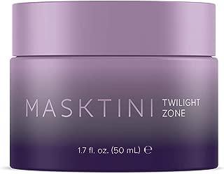Masktini Twilight Zone, Tahitian Detox Mask - Bamboo Charcoal Helping Remove Impurities, Resurfaces Skin & Lifts Away Dead Skins, Restoring Facial Moisture Balance 1.7oz