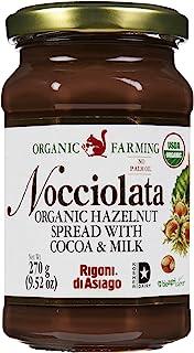 Nocciolata Organic Hazelnut Spread, 9.52 oz