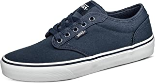 Vans Men's Atwood Trainers, Canvas Navy White, 7 UK