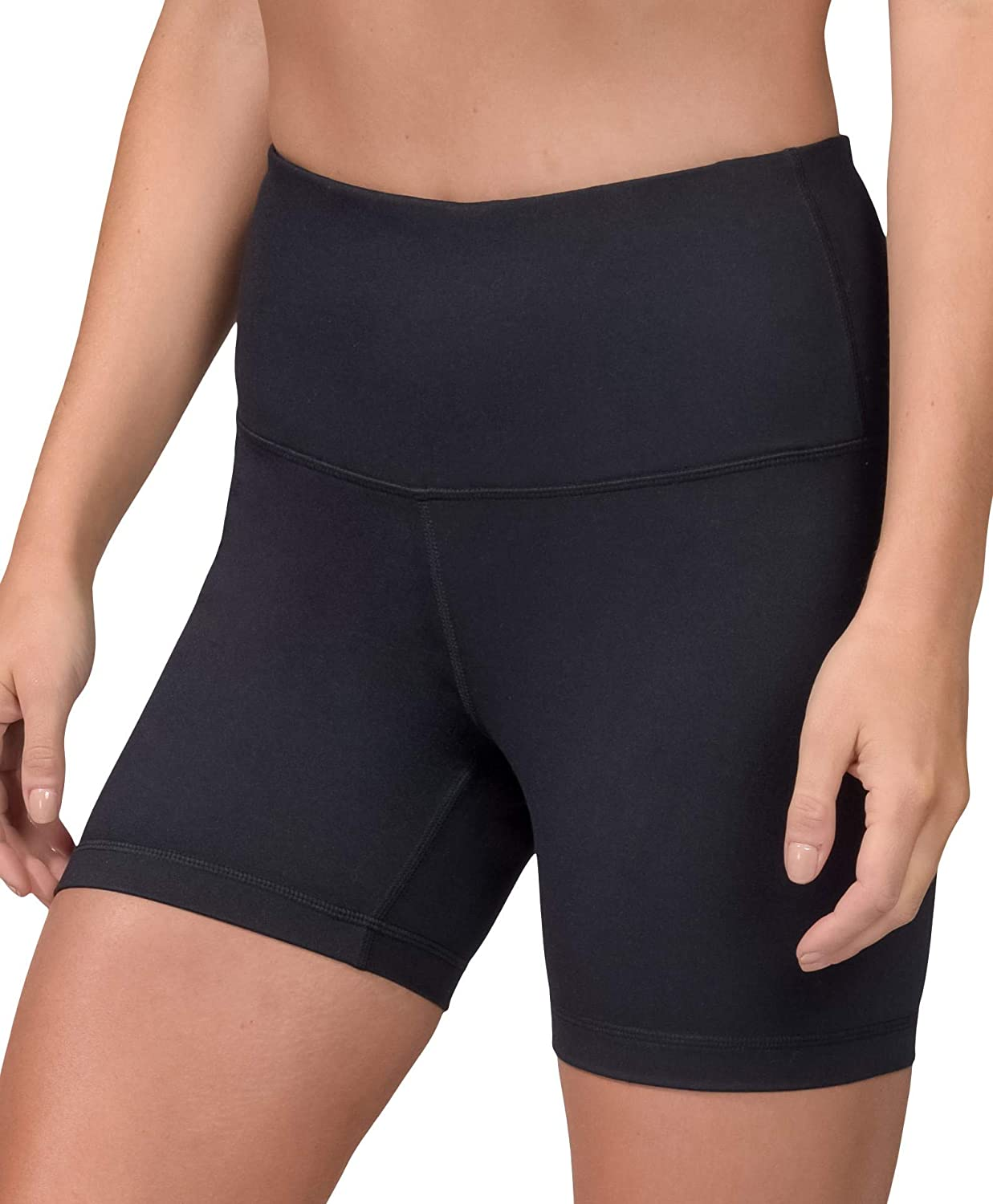 Velocity High Waisted Squat Proof Active Shorts for Women