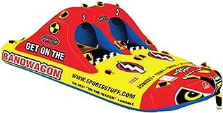Sportsstuff Bandwagon 2+2 | 1-4 Rider Towable Tube for Boating