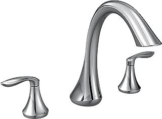 MOEN T943 Eva Collection Roman Tub Faucet, 1 count, Chrome