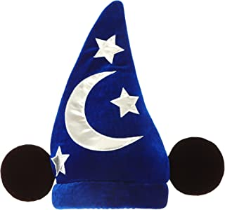 Disney Mickey Mouse Sorcerer Costume Hat with Ears by Elope Dark Blue