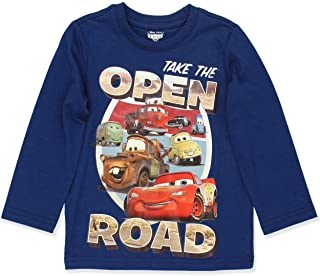 Disney Cars 3 Lightning McQueen Boys Long Sleeve Tee (Toddler)