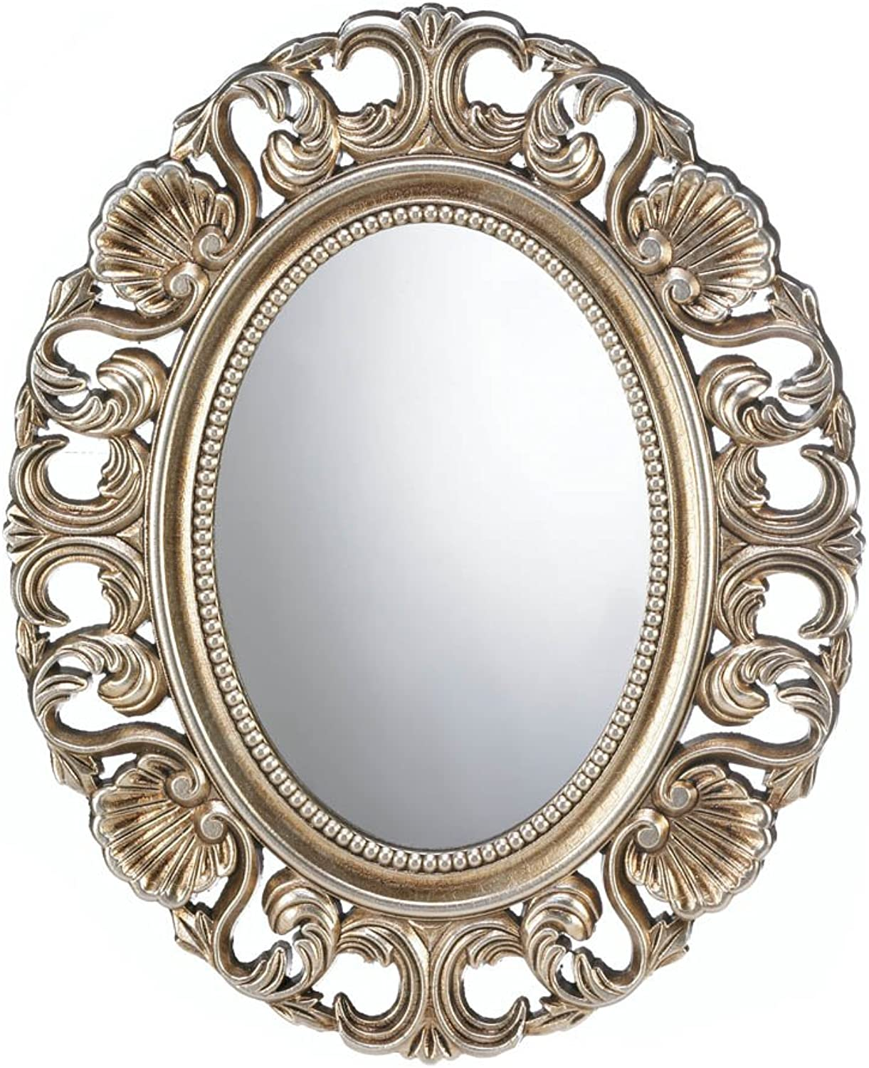 Smart Living Company Gilded Oval Wall Mirror