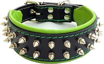 Bestia Frenchie Dog Collar, Spiked, Handmade, Bulldog Design, Pug, Terrier, Labrador, German Shepherd, Retriever, Boxer, Doberman, 2 inch Wide