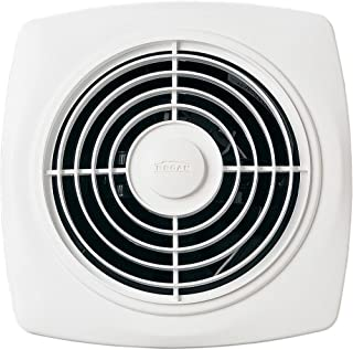 Broan 509 Through-Wall Fan, 180 CFM 6.5 Sones, White Square Plastic Grille (Renewed)