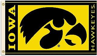BSI NCAA College Iowa Hawkeyes 3 X 5 Foot Flag with Grommets