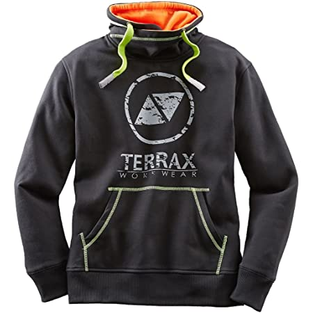 Schwarz//Royal TERRAX WORKWEAR Herren Sweatshirt