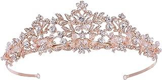 Best rose gold tiara Reviews