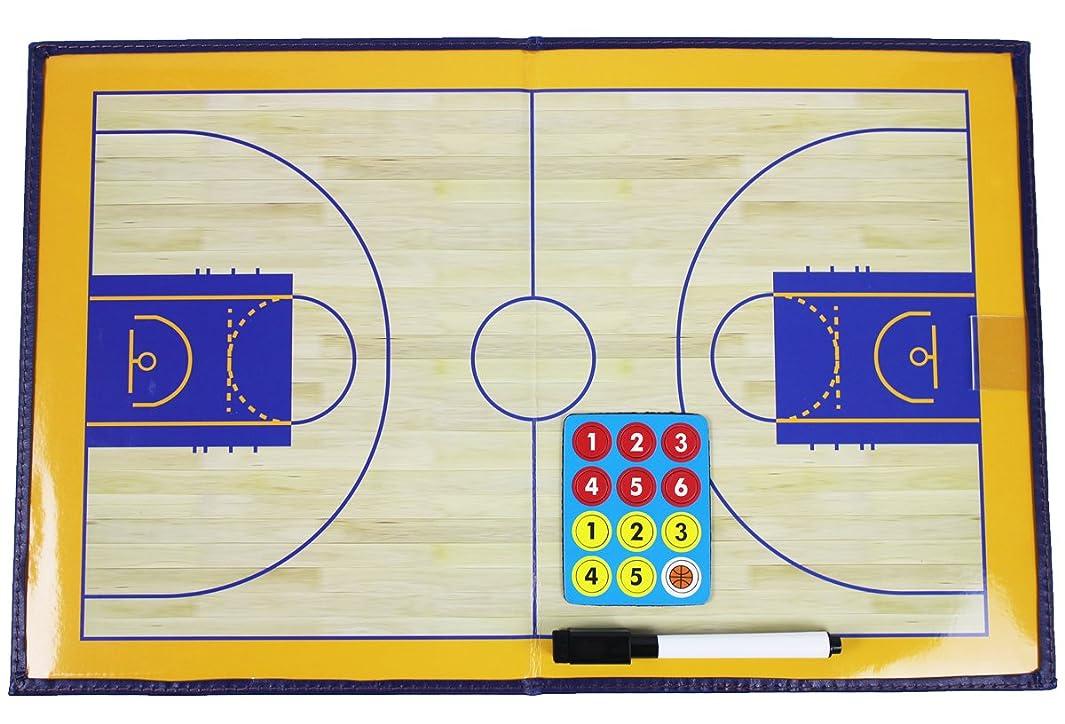破壊的な移動する豊富なHIROMARUjp サッカー フットサル バスケットボール バレーボール 作戦盤 折りたたみ タクティック コーチング ボード ペンセット