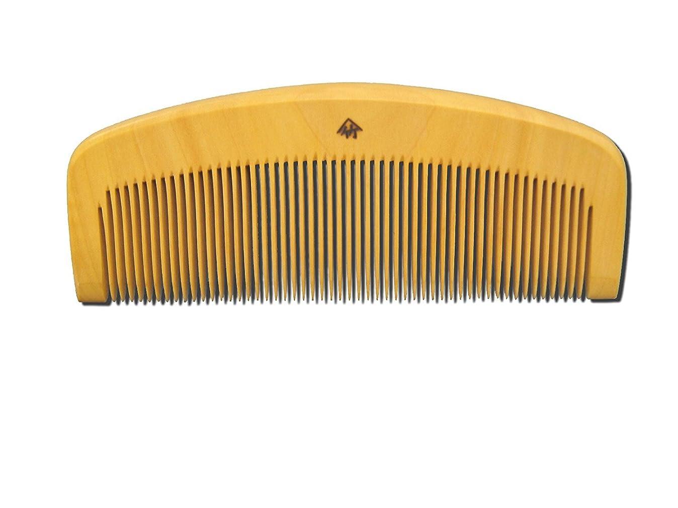 聖なる修羅場サークル薩摩つげ櫛 とき櫛 三寸五分 細歯