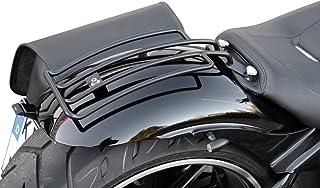 Gepäckträger schwarz Softail Solositz speziell für Heritage+Springer Classic, Deluxe, Breakout und FatBoy, nicht passend bei Heritage Springer Harley Davidson Buffalo Bag.