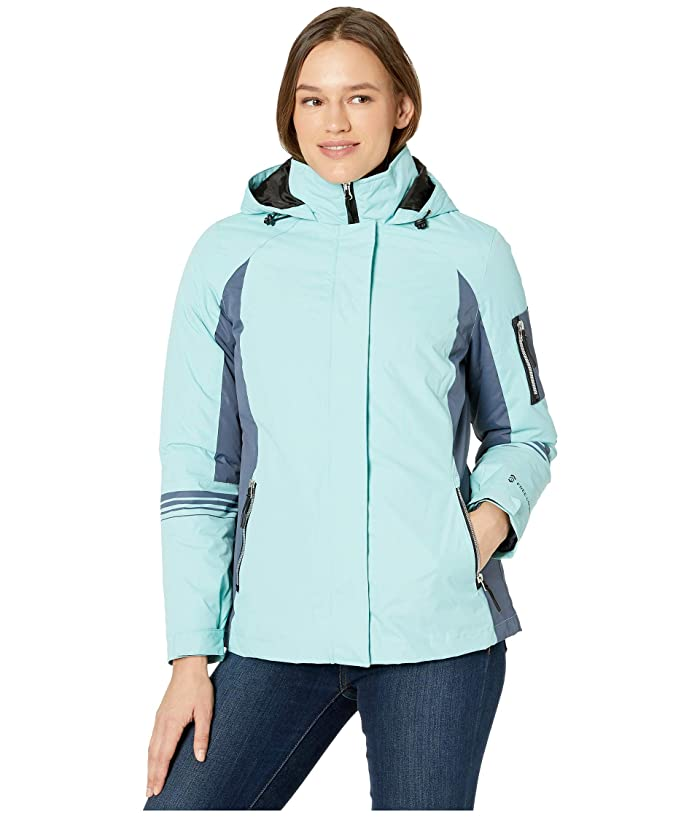 Tahari Ladies/' 3-in-1 Systems Jacket Detachable Quilted Jacket