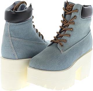 65f582147ae Amazon.com: platform boots - Shoe Republic LA