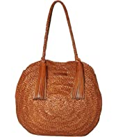 Loeffler Randall - Leilani Woven Circle Shoulder Bag