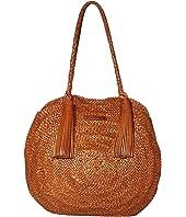 Loeffler Randall - Leilani Woven Circle Shoulder Bag