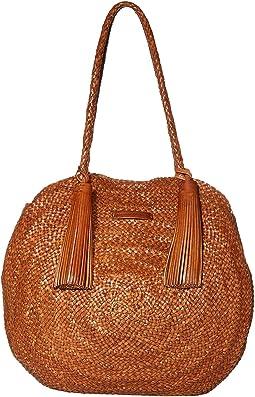 Leilani Woven Circle Shoulder Bag