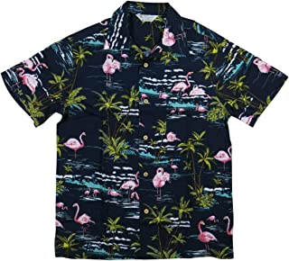 (スタイルド バイ オリジナルズ)Styled by Originals フラミンゴ 半袖 レーヨン100% アロハシャツ