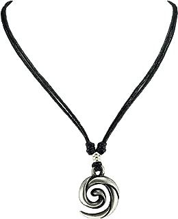 koru spiral necklace