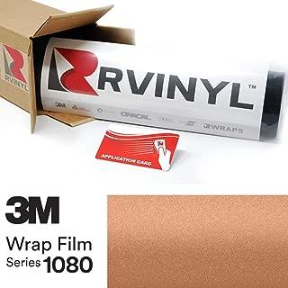 3M 1080 M229 Matte Copper Metallic 5ft x 1ft W/Application Card Vinyl Vehicle Car Wrap Film Sheet Roll
