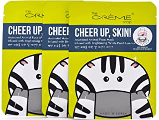 Creme Brightening White Pearl Essence Animated Face Mask 3 Piece Set
