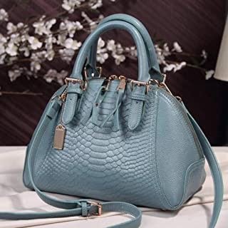LHKFNU New arrival star style PU leather women handbag already set bag fashion women bag classic serpentine shoulder bag