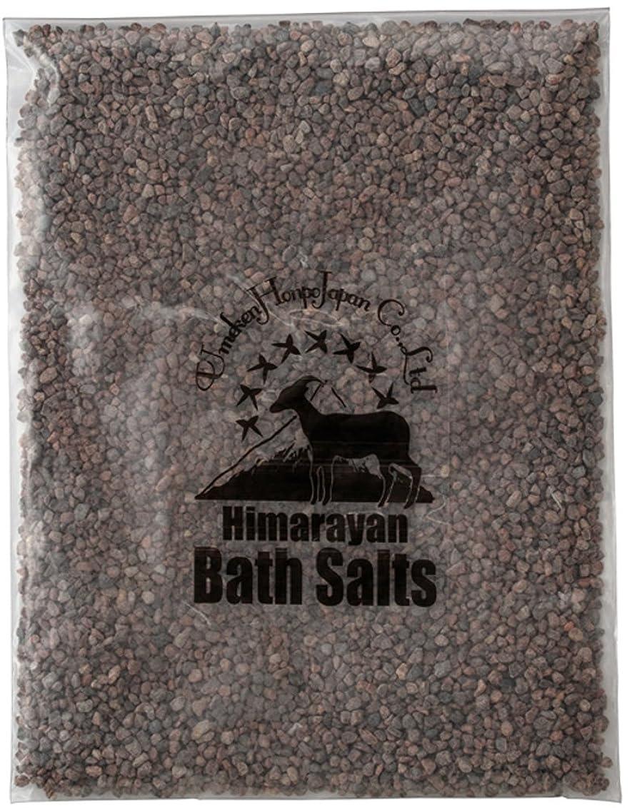 険しいうつ付添人ヒマラヤ岩塩 バスソルト ブラック 小粒 2kg