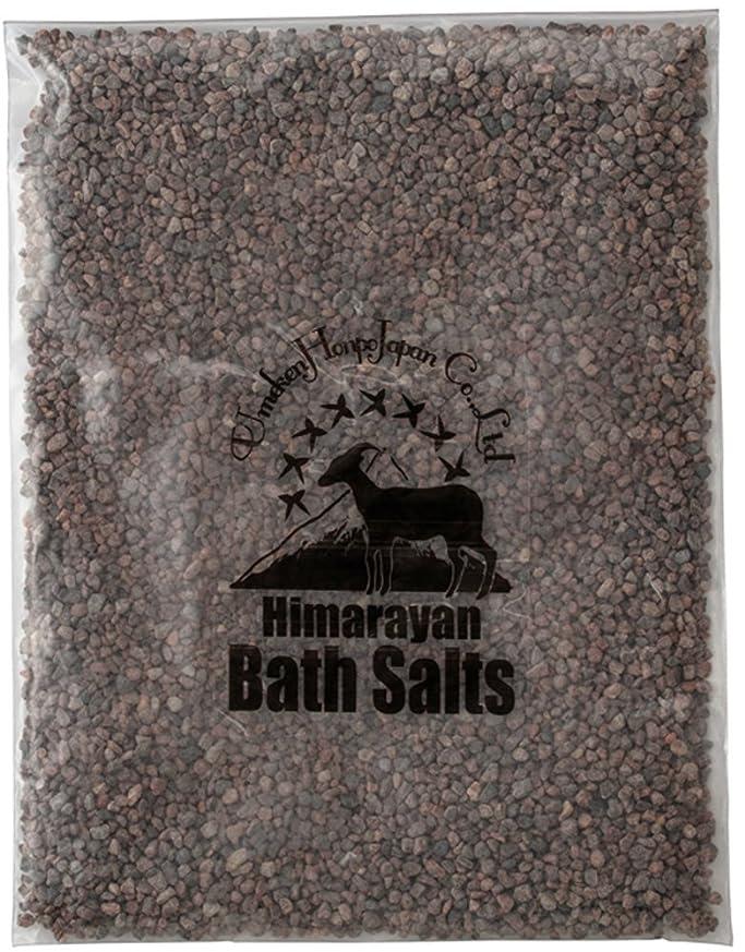 潜む幽霊運賃ヒマラヤ岩塩 バスソルト ブラック 小粒 2kg