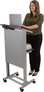 portable lectern stand