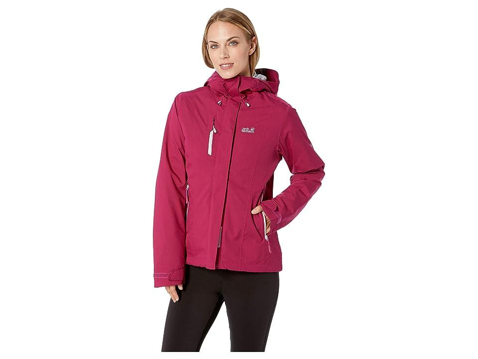 Jack Wolfskin Troposphere Waterproof Down Jacket (Amethyst) Women