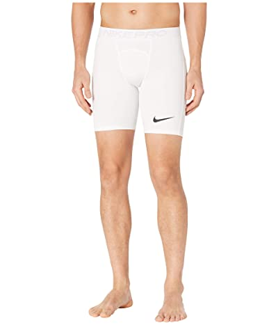 Nike Nike Pro Shorts (White/Black) Men