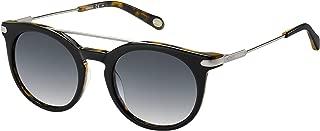 Fossil FOS 2029/S FOS2029SBG451F8 Round SunglassesBLK DKTOR51 mm