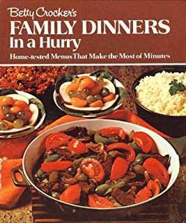Betty Crocker's Family Dinners in a Hurry