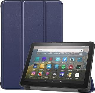 KPNS Fire HD 8 2020 / HD 8 Plus 専用 タブレット ケース KPNS 超薄型 スマートケース スタンド機能付き 高級PU レザー全面保護型 ケース Fire HD 8 2020 / HD 8 Plus 専用 カバー