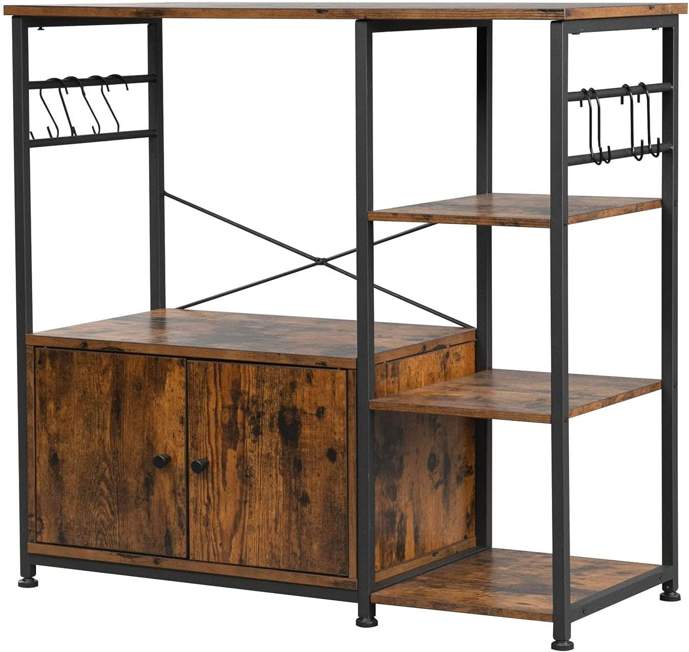 SYCBH Kitchen San Jose Mall Shelf Hodely Particleboard Wind Cheap sale Industrial 4-Layer