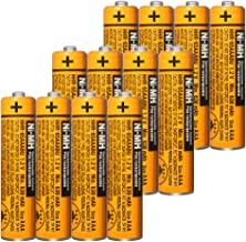 $22 » 12PCS NI-MH AAA Rechargeable Battery for Panasonic HHR-65AAABU 1.2V Replacement Battery