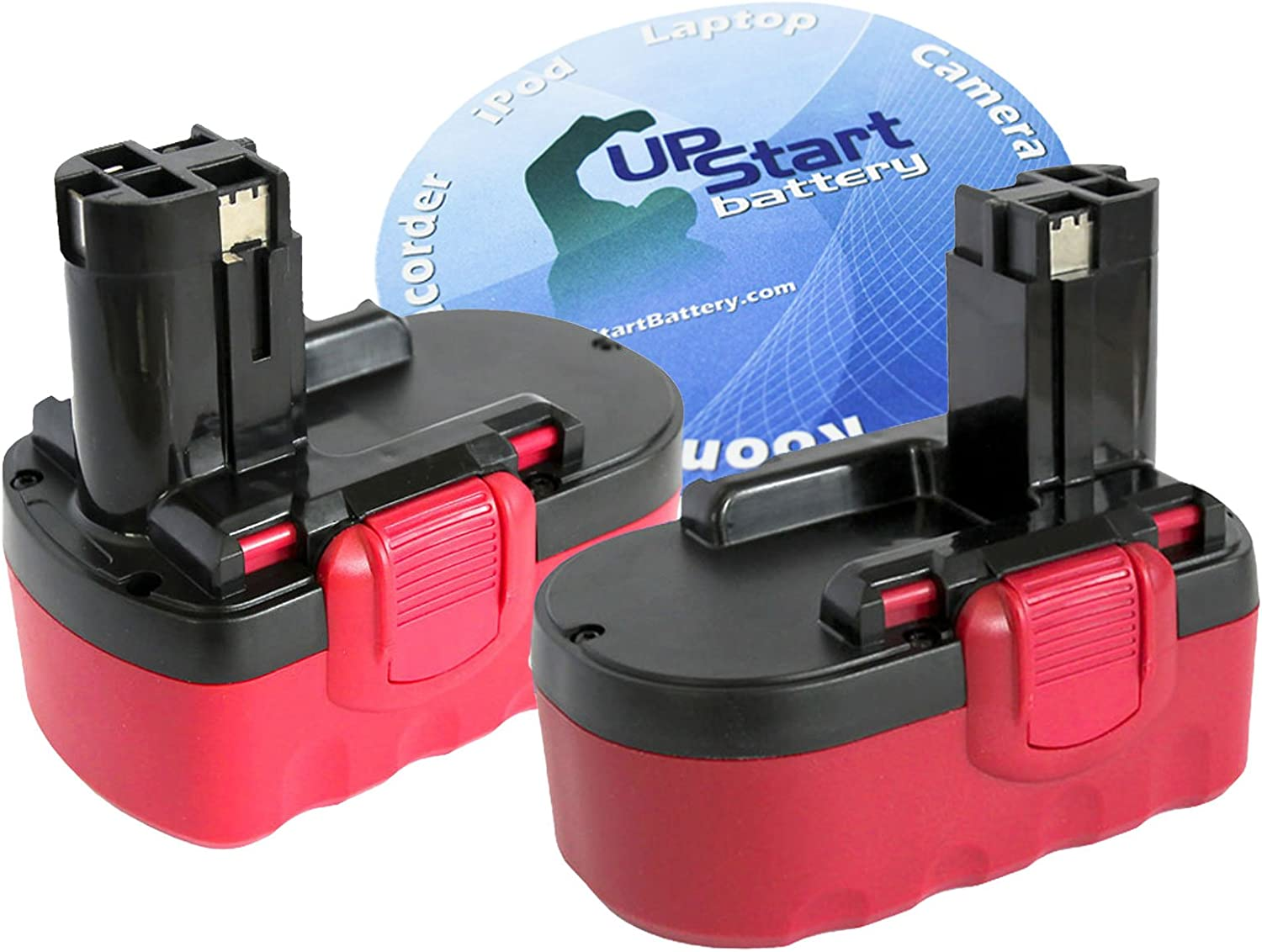2-Pack Finally resale start Bosch 18V Battery Replacement BAT Compatible 70% OFF Outlet - with
