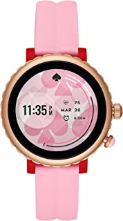 Women's Scallop Sport Metal and Silicone Touchscreen Smartwatch with Heart Rate, GPS, NFC, and Smartphone Notifications
