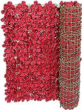 Kunstbloemen omheining Trellis omheining panelen tuinwand Privacy Fence decoratie voor Wedding Yard Decoratieve Kunstmatig...