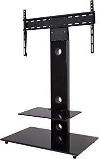 AVF FSL700LEB-A Lesina TV Floor Stand with TV Mounting Column for 32-inch to 65-Inch TVs, Black