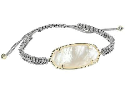 Kendra Scott Elle Friendship Bracelet (Gold/Ivory Mother-of-Pearl 1) Bracelet
