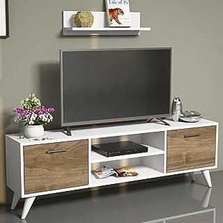 Bravo Horus TV Unit, White - 48 cm x 120 cm x 30 cm
