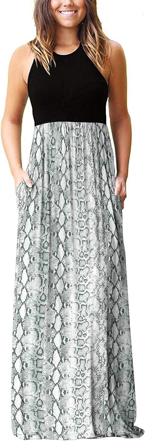 Weekly update PCEAIIH Women Long Sleeve Loose Dresses Pockets Plain Maxi Popular popular Casua