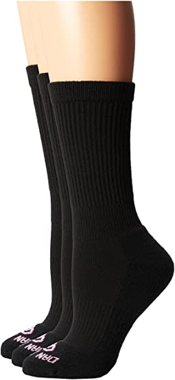 Dan Post - Dan Post Cowgirl Certified All Around Crew Socks 3 Pack