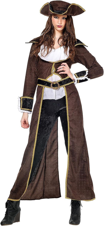 Limit Sport Piratin Freibeuterin Damen Kostüm Gehrock Piratenkostüm Damenkostüm Seeräuberin B017SX9DRC Trendy  | Primäre Qualität