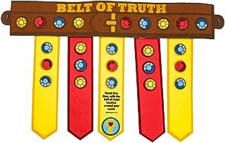 Fun Express - Armor of God Belt ck - Craft Kits - CYO - Paper - Misc CYO - Paper - 12 Pieces